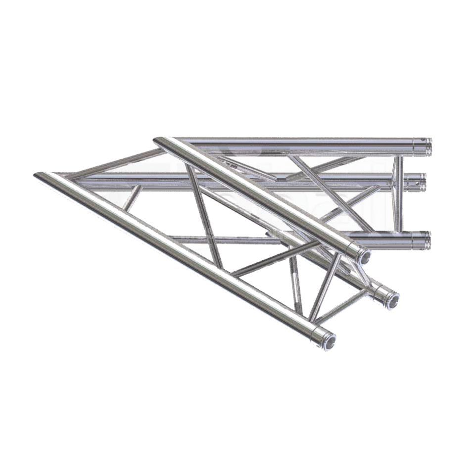 Global Truss F33 2-Way Corner C19 45°  Produktbillede