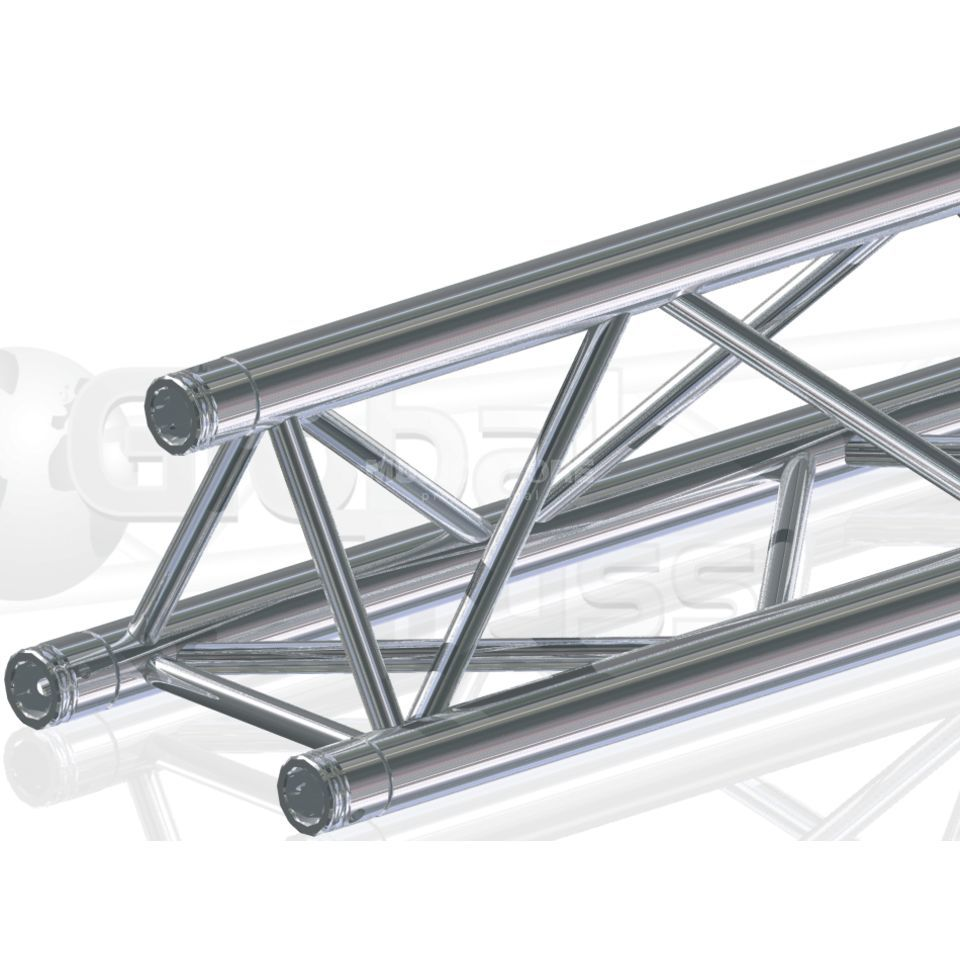 Global Truss F33, 350cm, 3-Point Truss incl. Cone Connectors Produktbillede