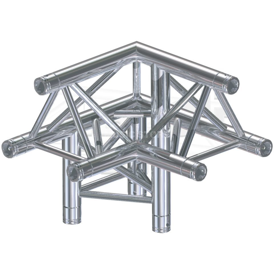 Global Truss F33, LU90 Corner, C32 3-Point Produktbillede