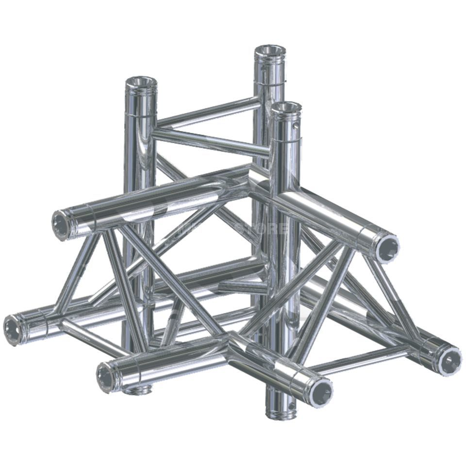 Global Truss F33, LUD 90° corner C45 3-Point Produktbillede