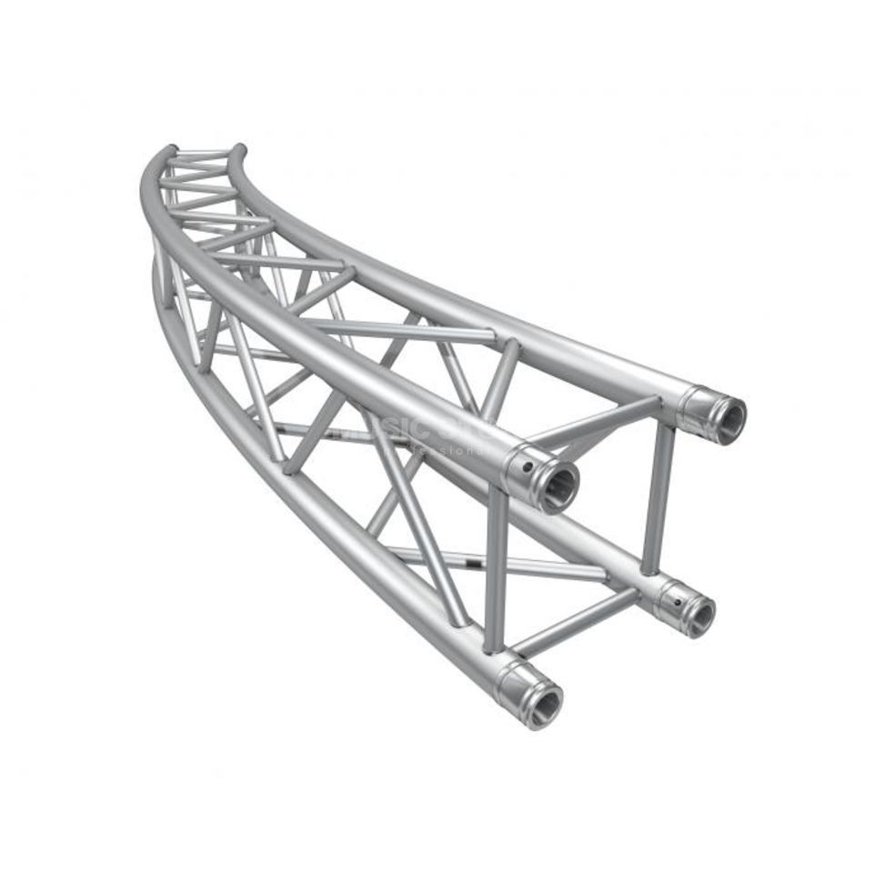 Global Truss F34 Circular for Ø 11.0m 30° incl.  Conical Coupler Produktbillede