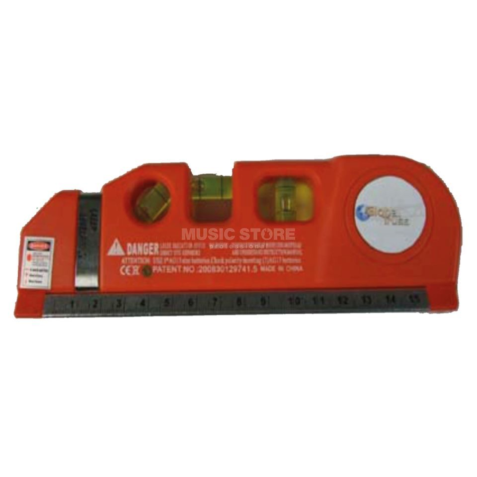 Global Truss Water Level with Laser - Red Produktbillede