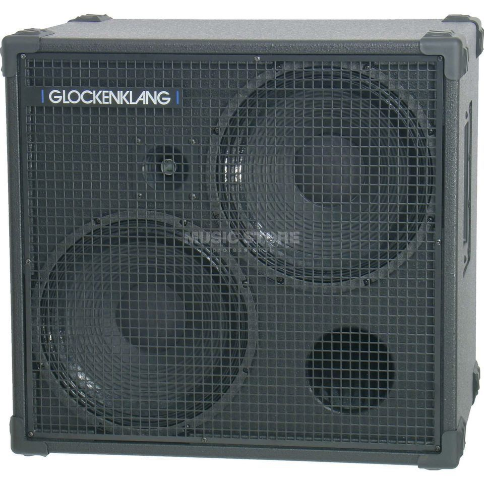 "Glockenklang Double Box 4 Ohm 500 Watt 2x12"" Speaker + Horn Product Image"