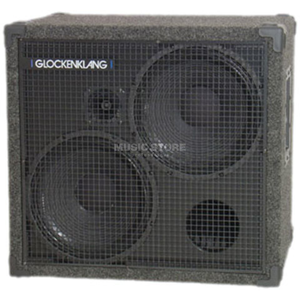 "Glockenklang Double Light Box 4 Ohm 500 Watt, 2x12"" Speaker + Horn Product Image"