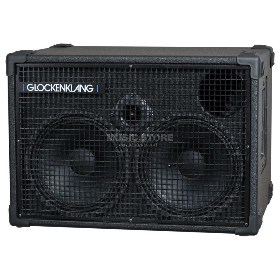 "Glockenklang Duo Box 16 Ohm 400 Watt 2x10"" Speaker +Horn Изображение товара"
