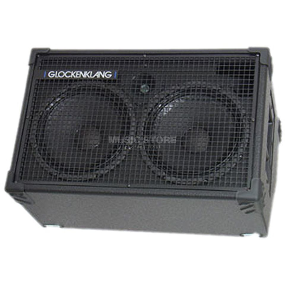 "Glockenklang Duo Wedge Box 4 Ohm 400 Watt 2x10"" Speaker +Horn Zdjęcie produktu"