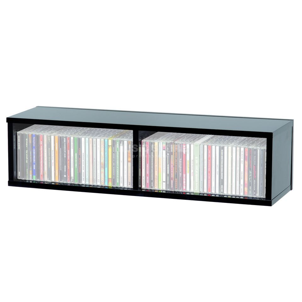 Glorious CD Box black 90  Productafbeelding
