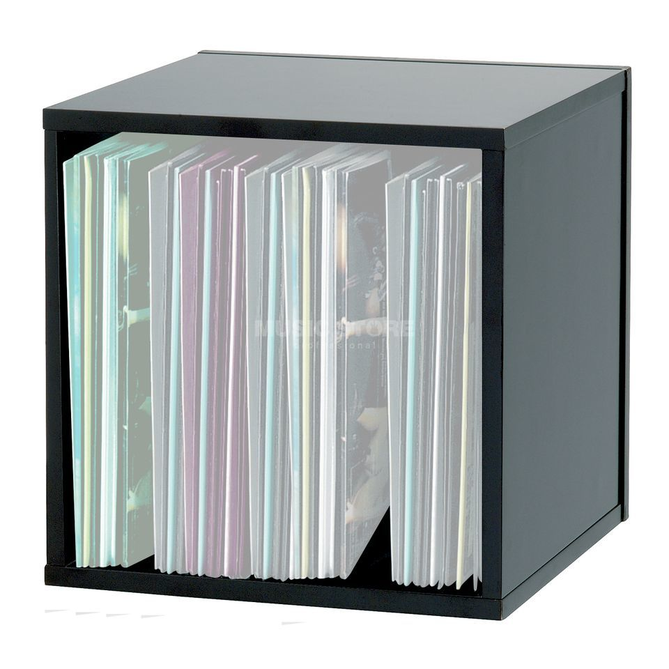 Glorious Record Box 110 Black MDF Record Box, 110 Capacity Product Image
