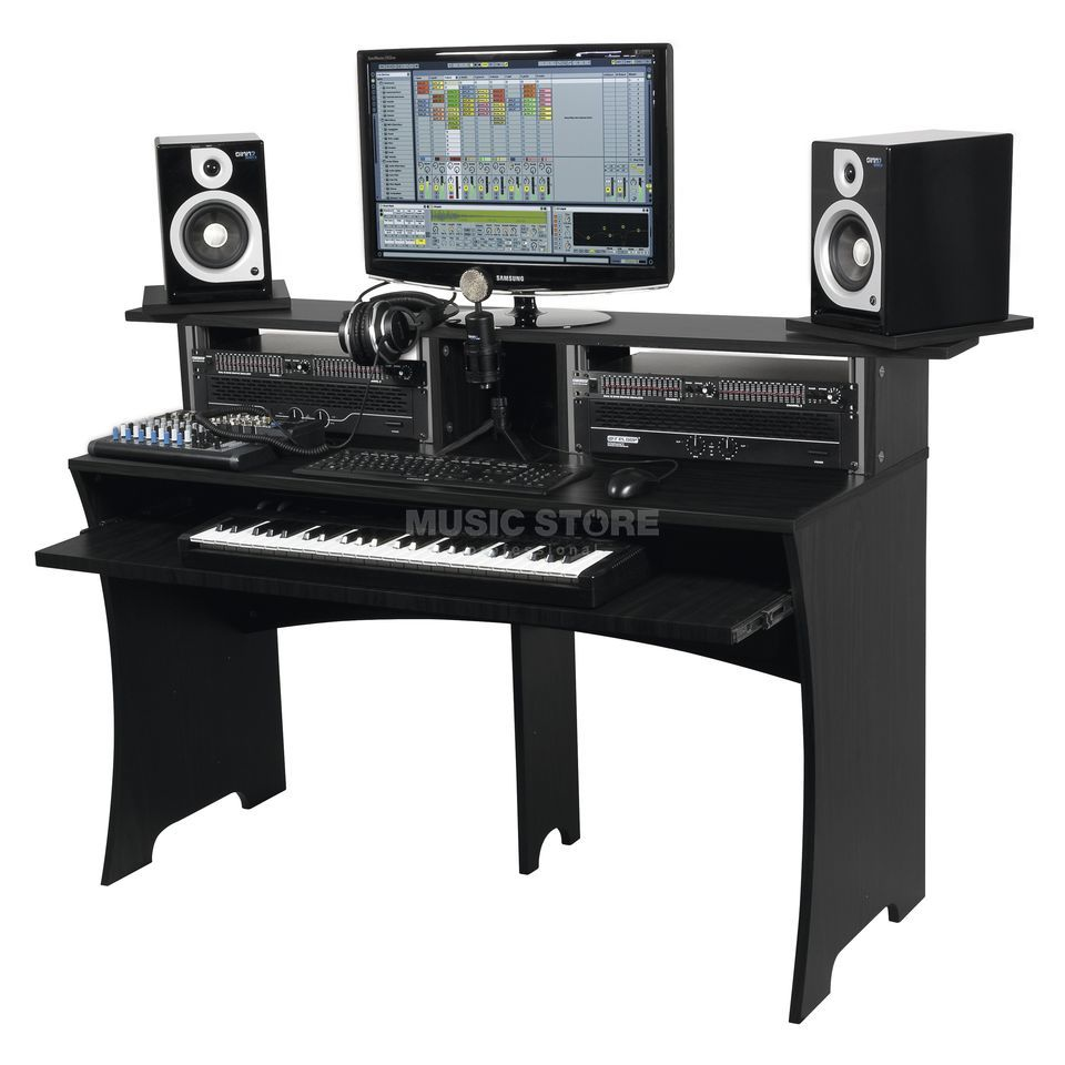 Glorious Workbench black REC/DJ-Workstation Produktbillede