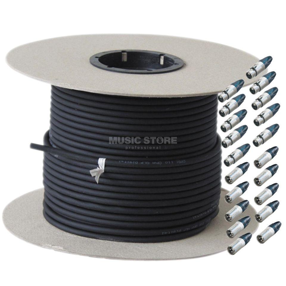 GLP DMX Kabel 100m - Set