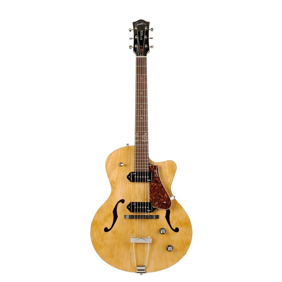 Godin 5th Avenue CW Kingpin II, Natu ral   Product Image