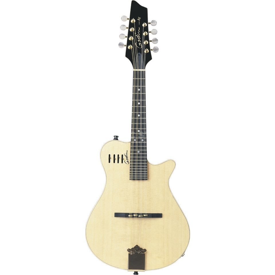 Godin A 8 Mandoline Natural Semi Gloss ,solid Spruce Top,Bag Product Image