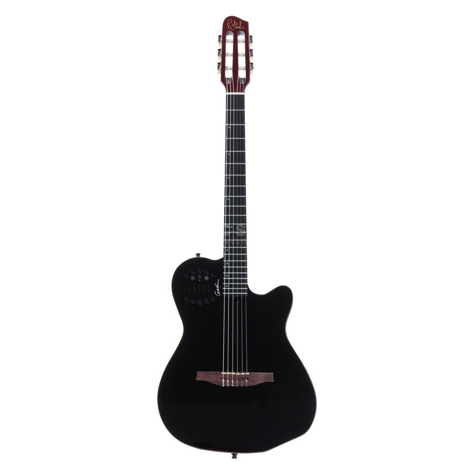 Godin ACS-SA Slim Nylon BP HG Black Pearl Highgloss- Finish Produktbild