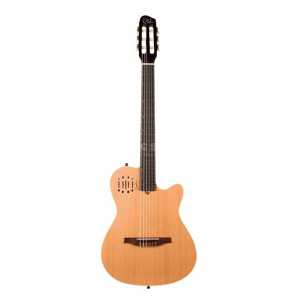 Godin MultiAc Nylon Encore Acoustic  Guitar, Natural   Produktbillede