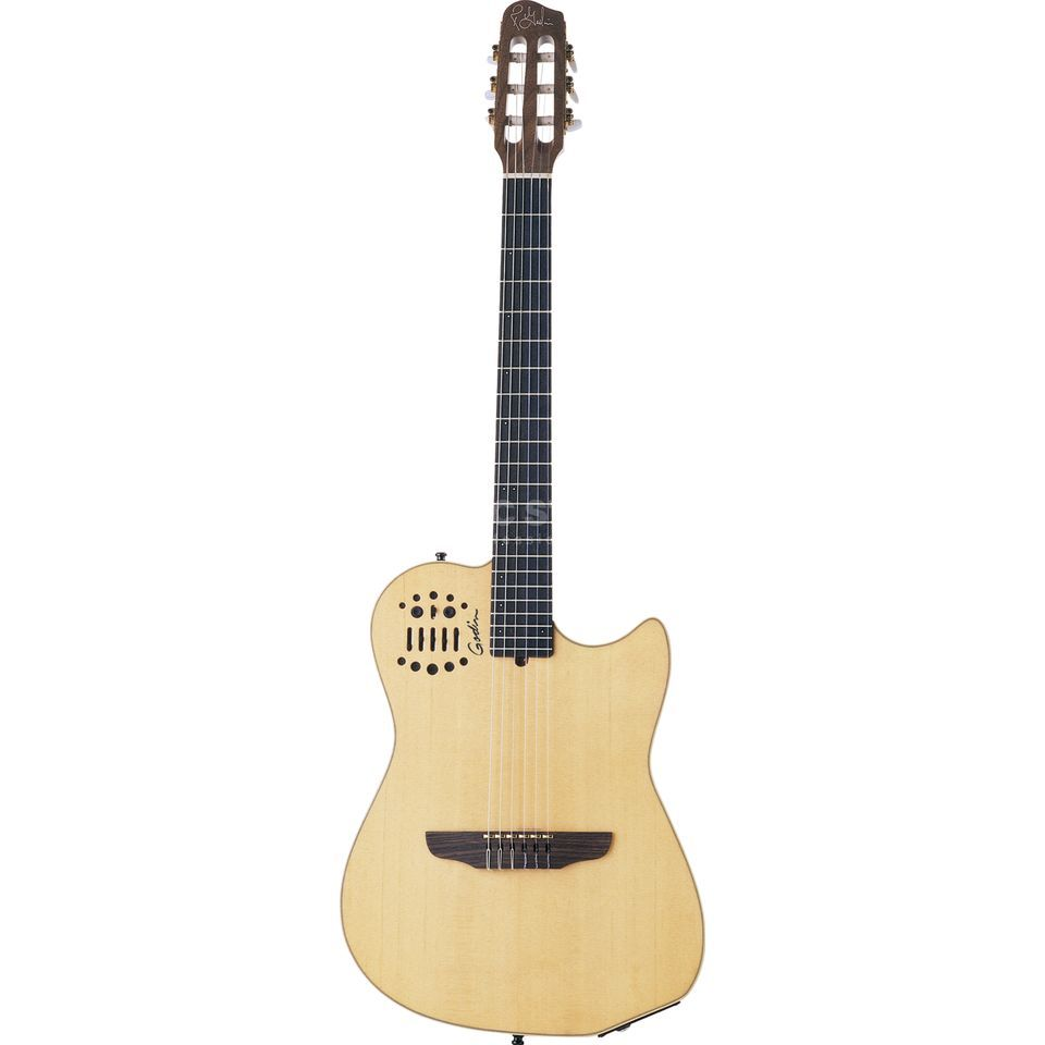 Godin Multiac Nylon SA NT HG Natural Highgloss Produktbild