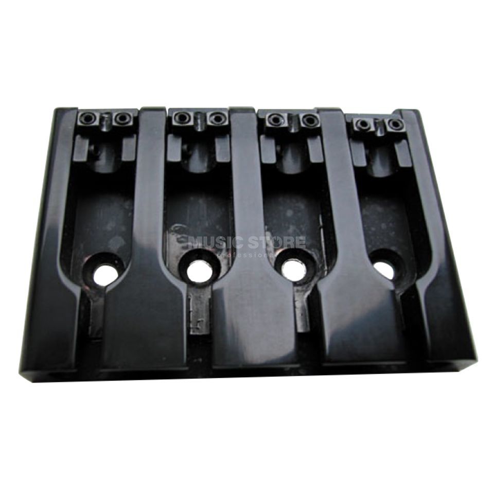 Göldo 3-D Bass Bridge 4-String Black Product Image