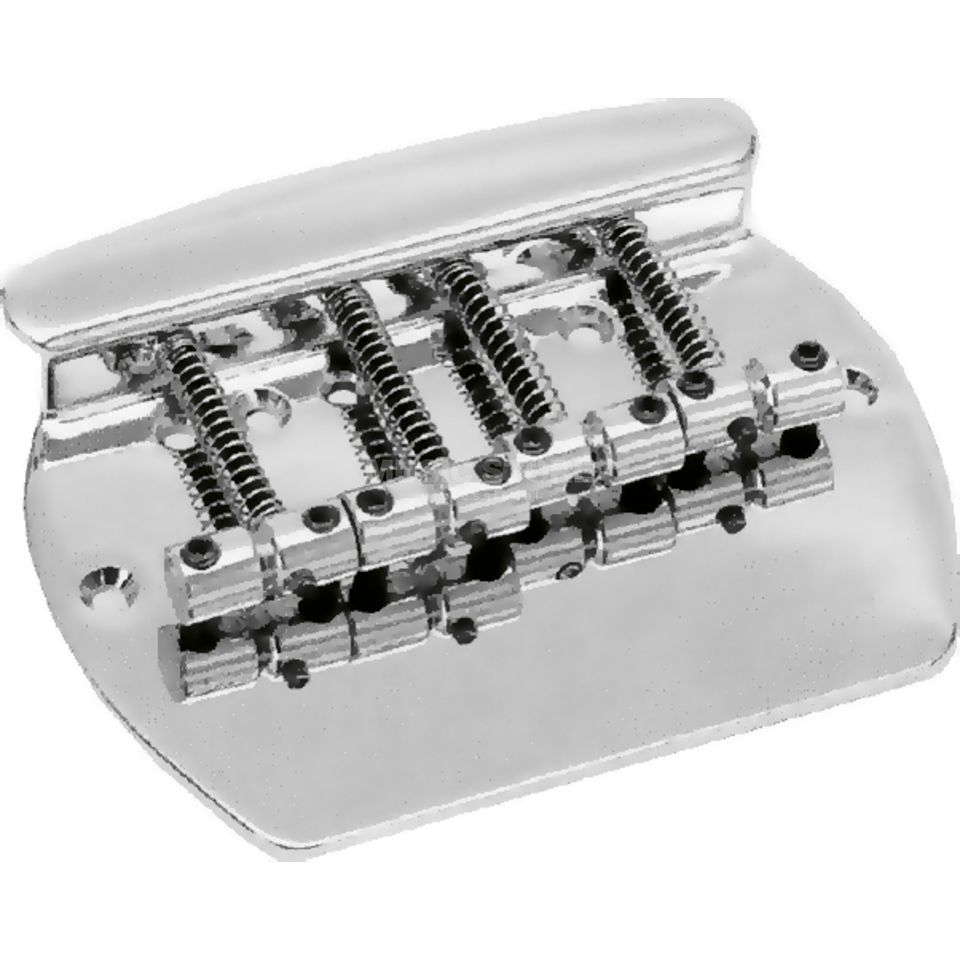 Göldo Bass  Bridge MM chrome 4-String Produktbillede
