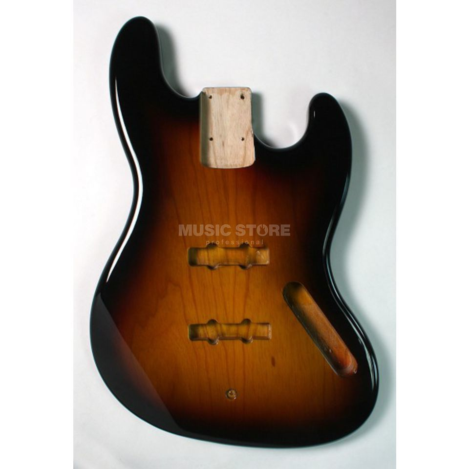 Göldo Body Jazz Bass Swamp Ash 3-Tone Sunburst Product Image