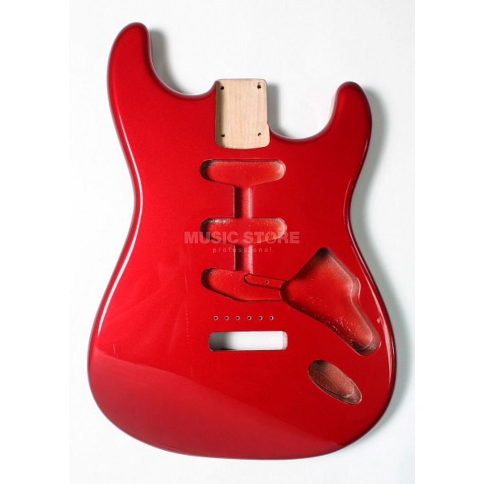 Göldo Body Strat Alder Candy Apple Red Produktbillede