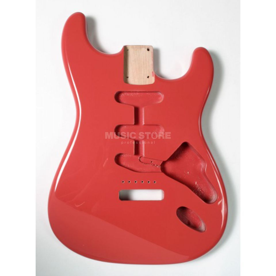 Göldo Body Strat for 3 Single Coils Fiesta Red   Product Image