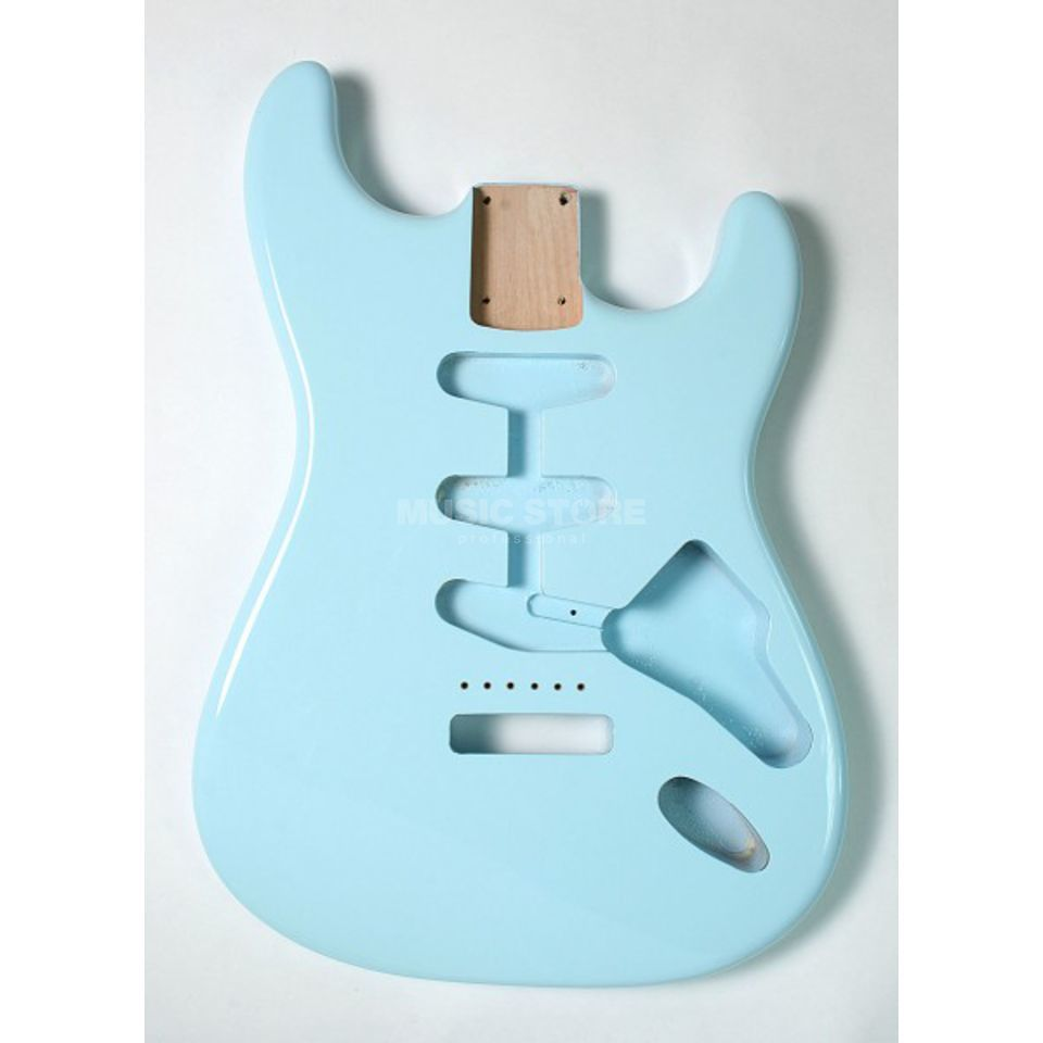 Göldo Body Strat for 3 Single Coils Sonic Blue   Produktbillede