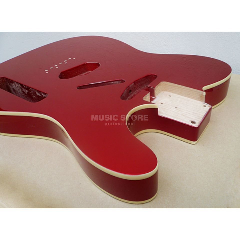 Göldo Body Tele Alder Candy Apple Red Double Binding Produktbillede