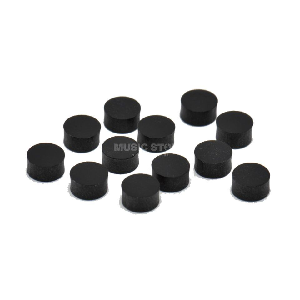 Göldo Dot 6mm Black 12-Pack  Produktbillede