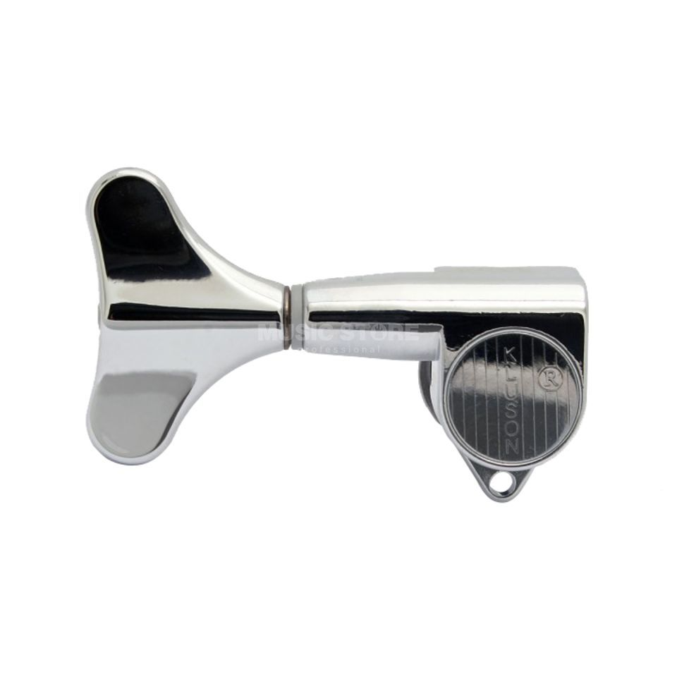 Göldo Mechanik Bass Chrome Tuner Closed Type - Single Right Product Image
