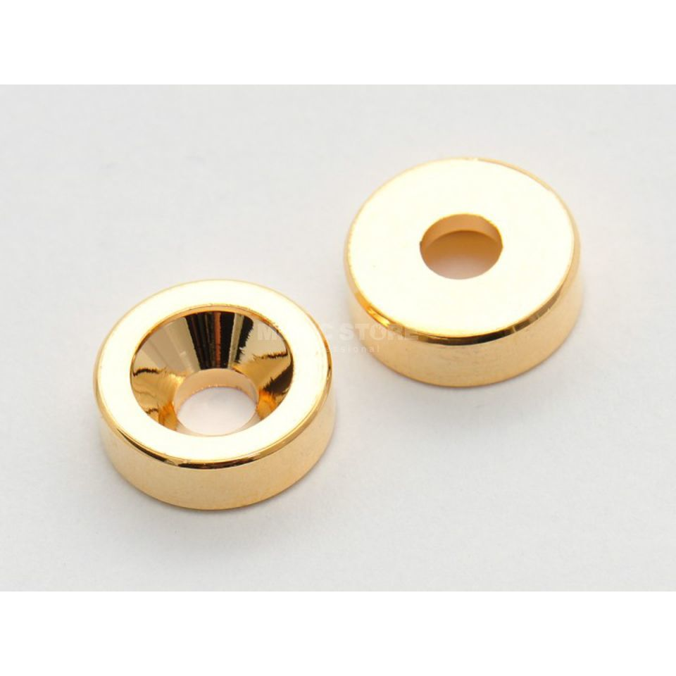 Göldo Neck Attachment Sockets 12mm Gold Produktbillede