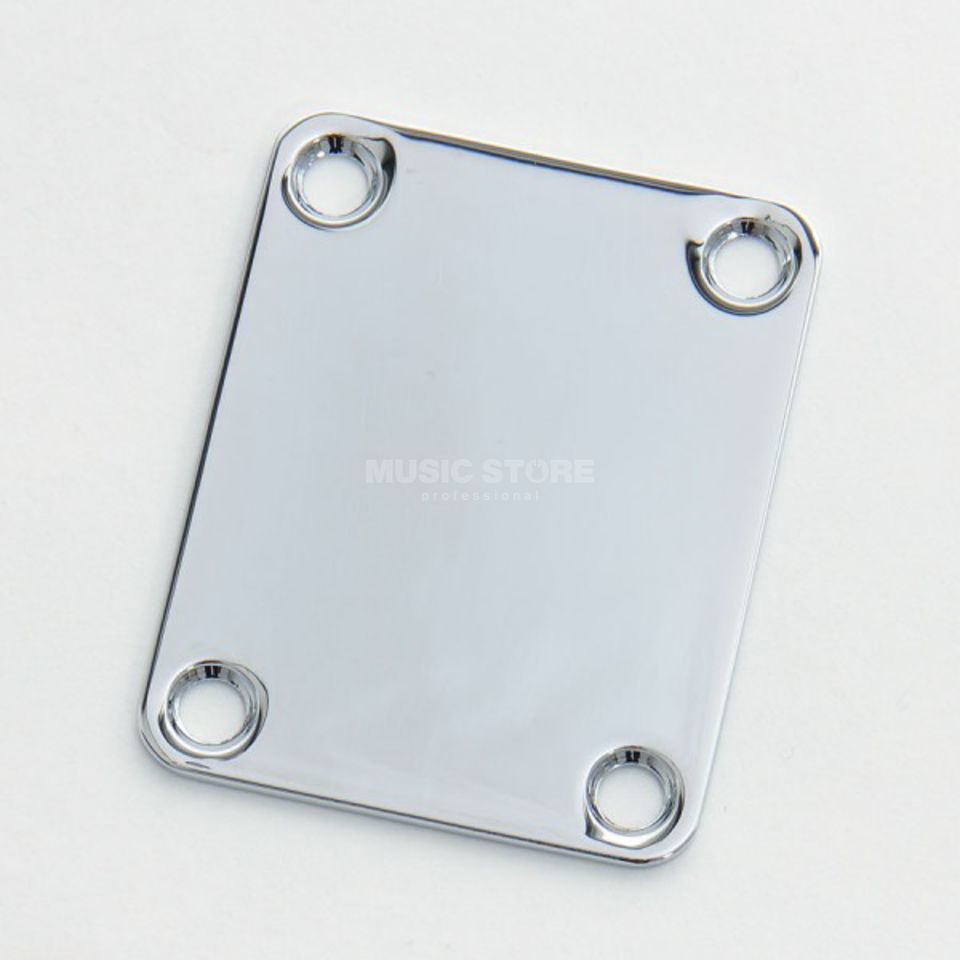 Göldo Neck Plate 4 Hole Chrome Product Image