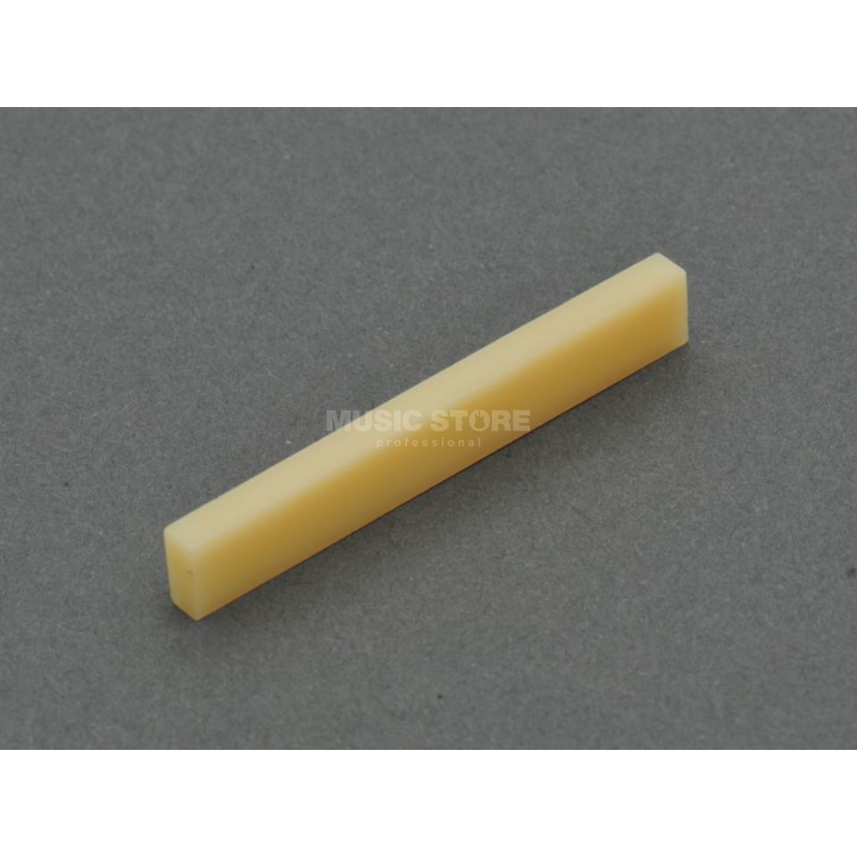 Göldo Vintage Bone Nut 48x7x3,3mm, for slot Produktbillede