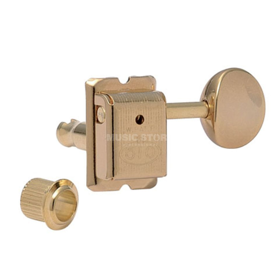 Gotoh SDS-510 Mechanik GG 6L 05M Button gold Produktbild