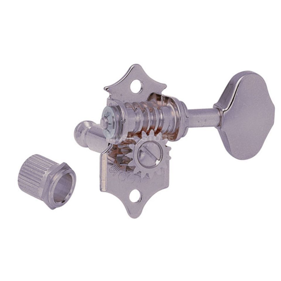 Gotoh SE-510W Mechanik XN 3L 3R 06M Button satin nickel Produktbild