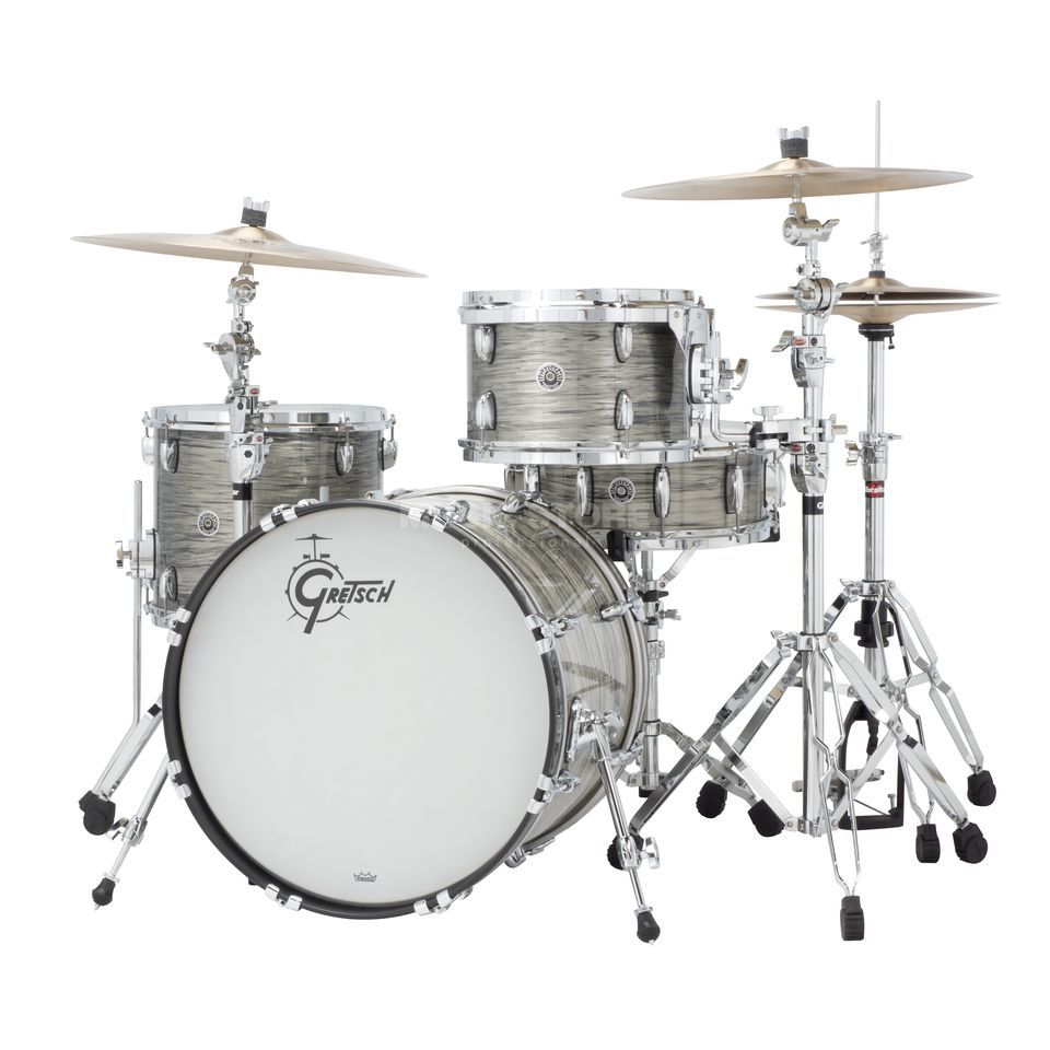 Gretsch Brooklyn ShellSet GB-R443, Grey Oyster #GO Produktbillede