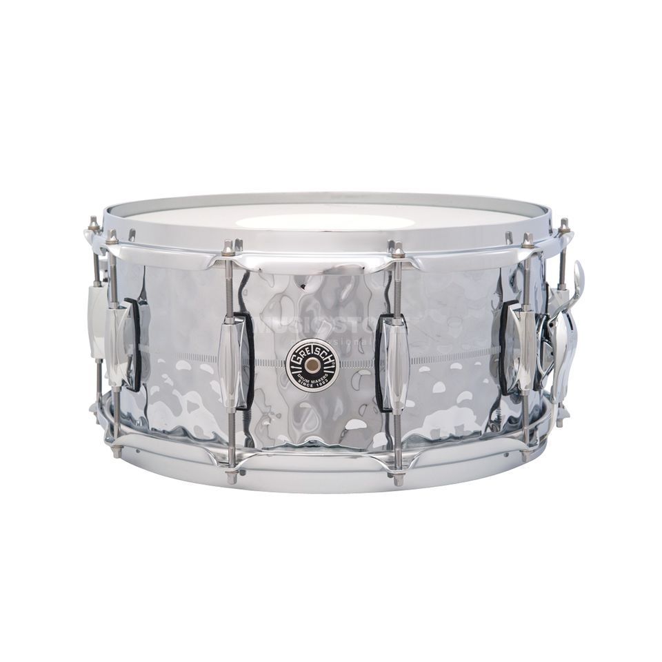 "Gretsch Brooklyn Snare 14""x6,5"", Hammered Chrome Produktbild"