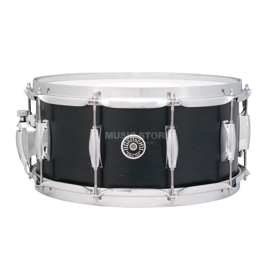 "Gretsch Brooklyn Snare 14""x6.5"", Satin Black #SDE Produktbillede"