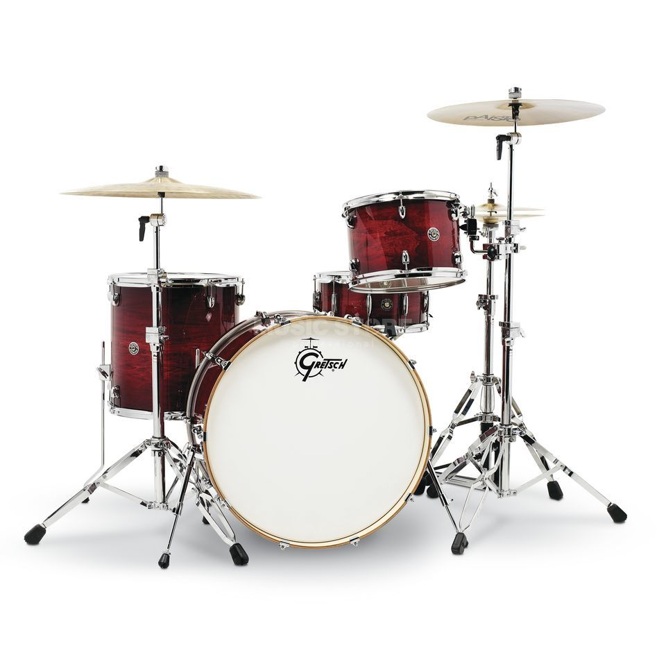 Gretsch Catalina Club CT1-R444 Gloss Crimson Brust Produktbillede