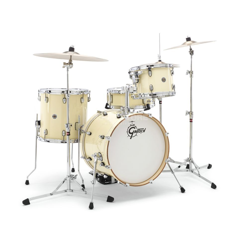 Gretsch Catalina Club Jazz CT1-J484, Gloss White Chocolate #WC Produktbillede