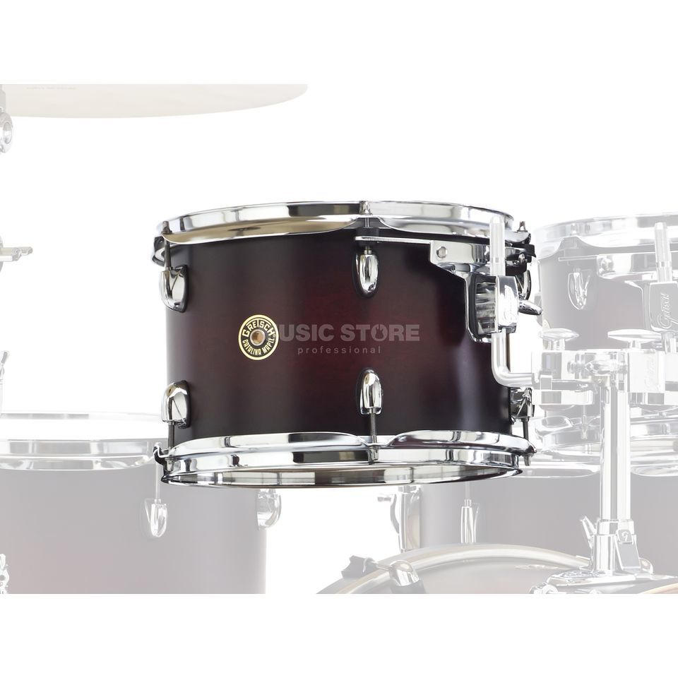 "Gretsch Catalina Maple Tom 8""x7"", Satin Deep Cherry Burst #SDCB Produktbild"