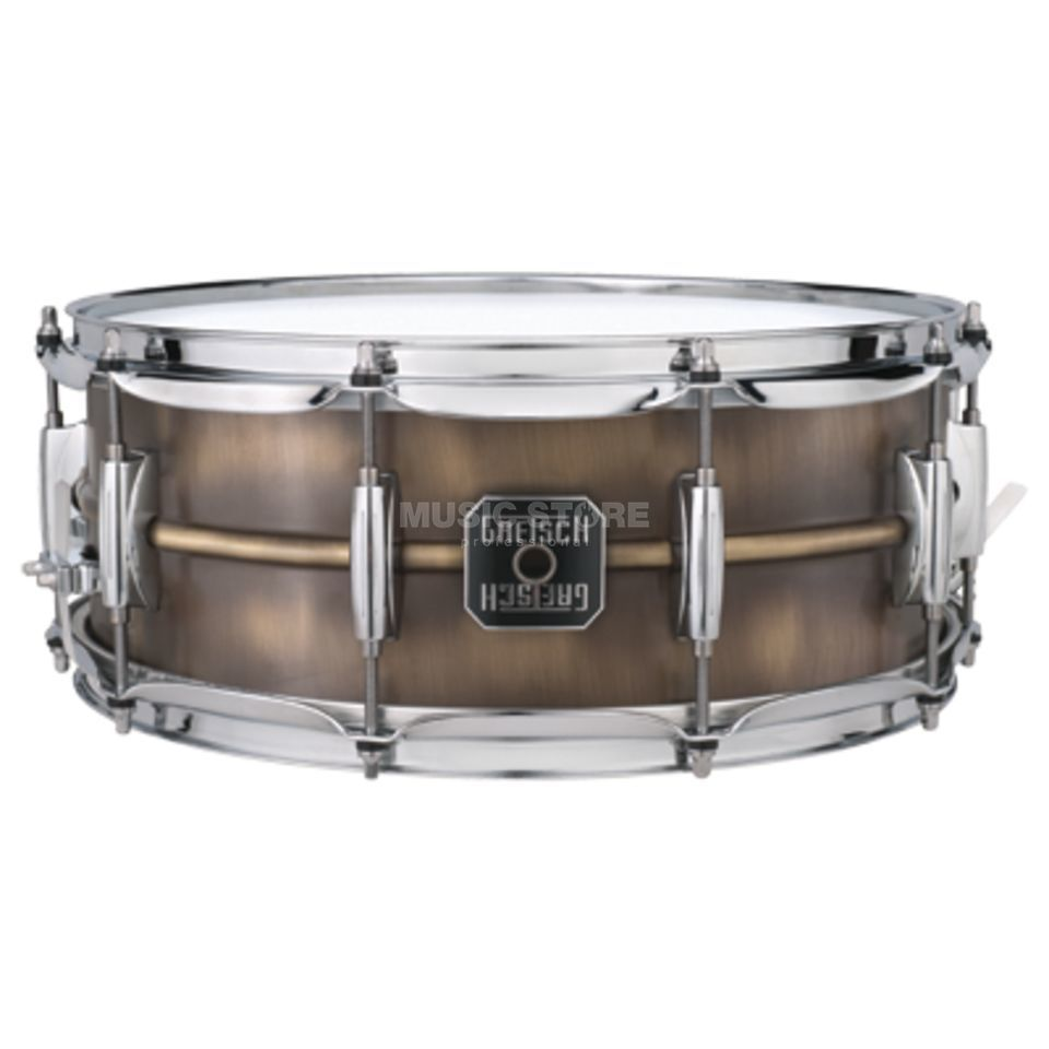 "Gretsch Full Range Snare S-6514-BB, 14""x6,5"", Brushed Brass Produktbild"