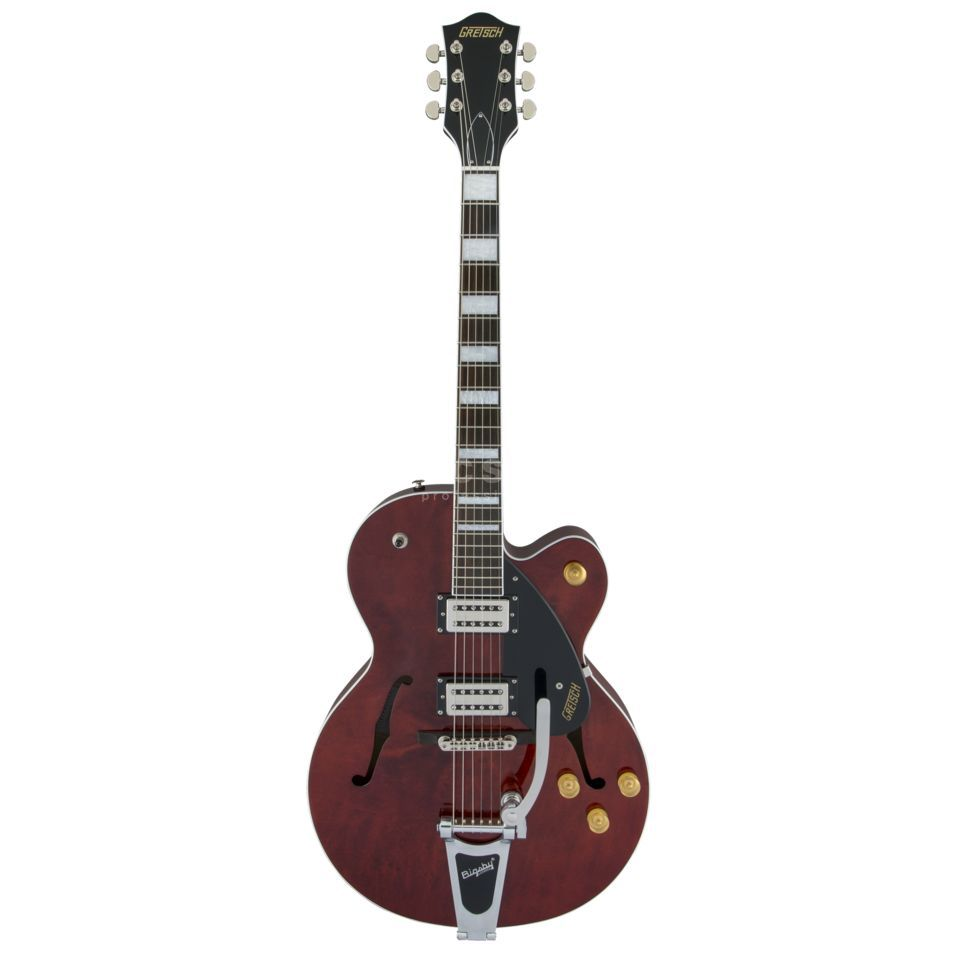 Gretsch G2420T Streamliner Hollow Body with Bigsby Walnut Stain Immagine prodotto