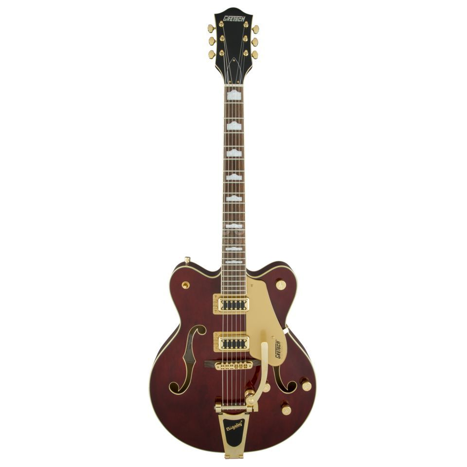 Gretsch G5422T Electromatic Hollow Body Double-Cut Bigsby Walnut Stain Produktbillede