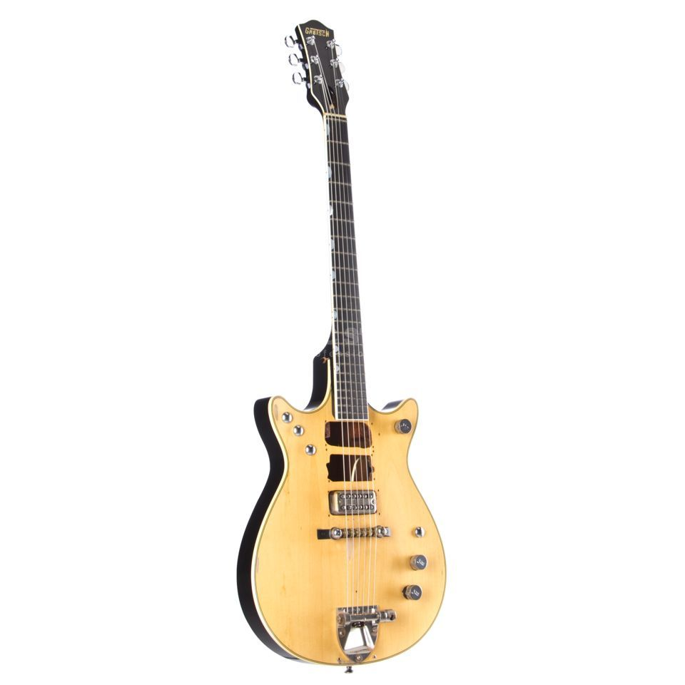 Gretsch G6131MY-CS Custom Shop Malcolm Young Salute Jet Natural Relic