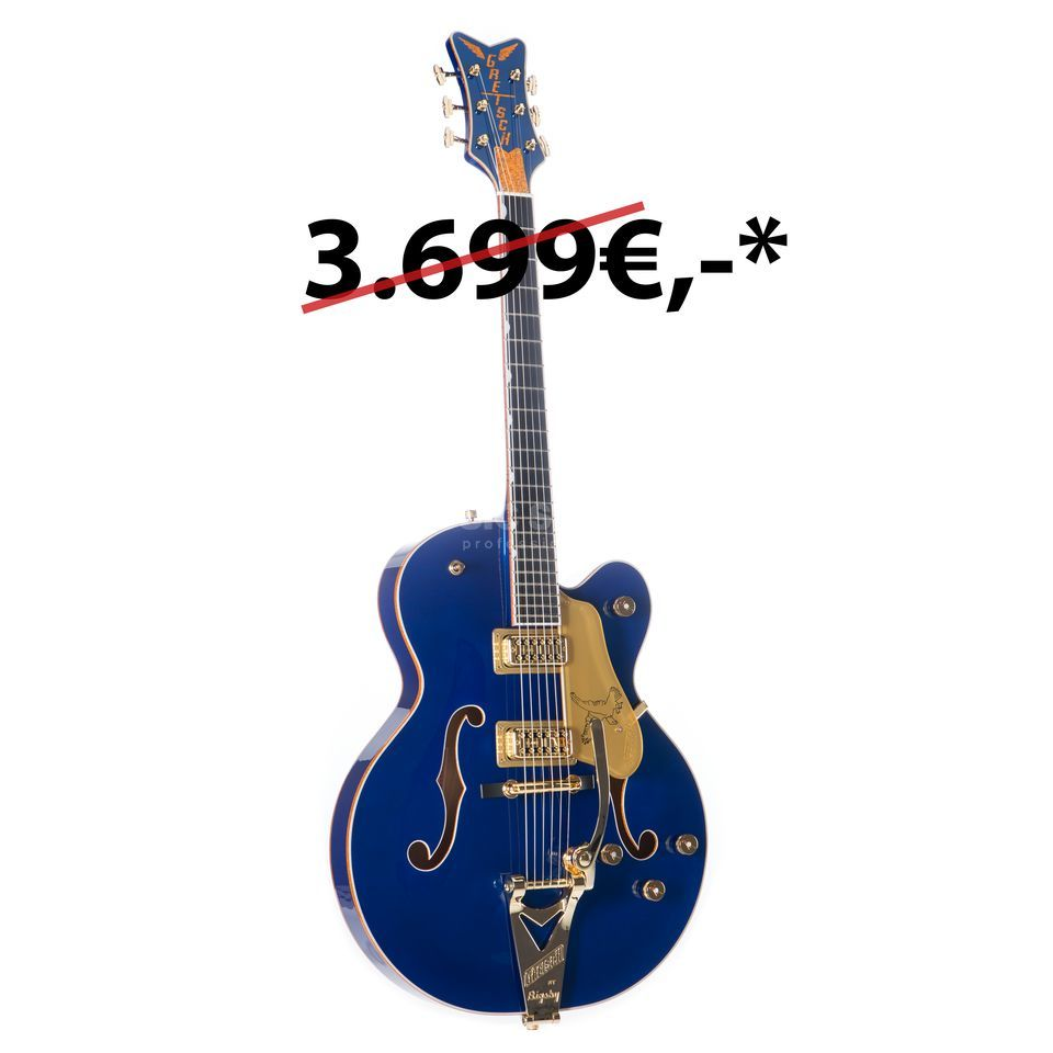 Gretsch G6136T Limited Edition Falcon Bigsby Azure Metallic Product Image