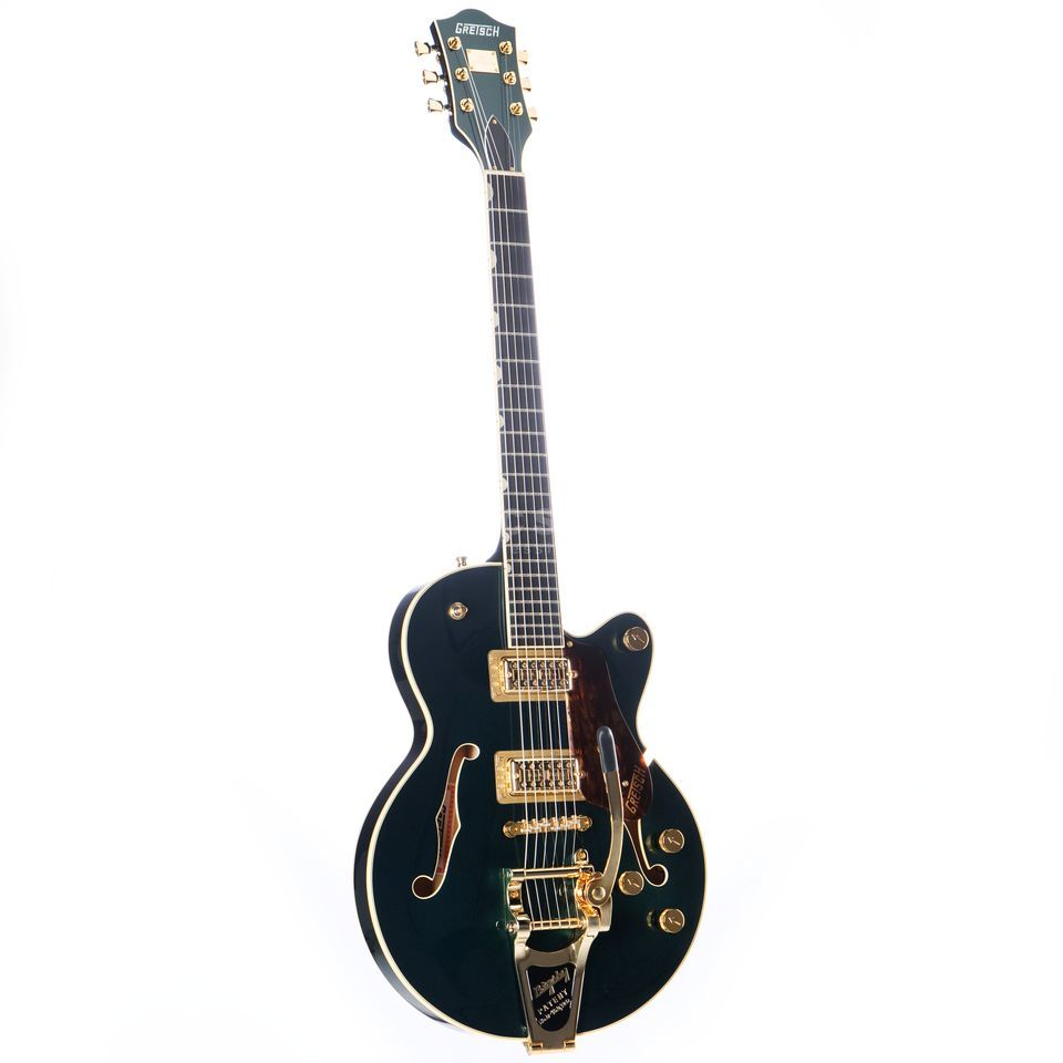 Gretsch G6659TG Players Edition Broadkaster Jr. Singlecut  Bigsy Cadillac Green Imagem do produto