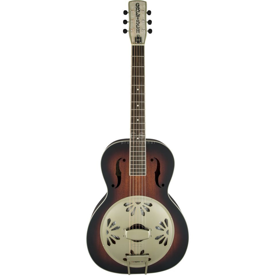 Gretsch G9241 Alligator Biscuit Round Neck 2-CS Sunburst Product Image