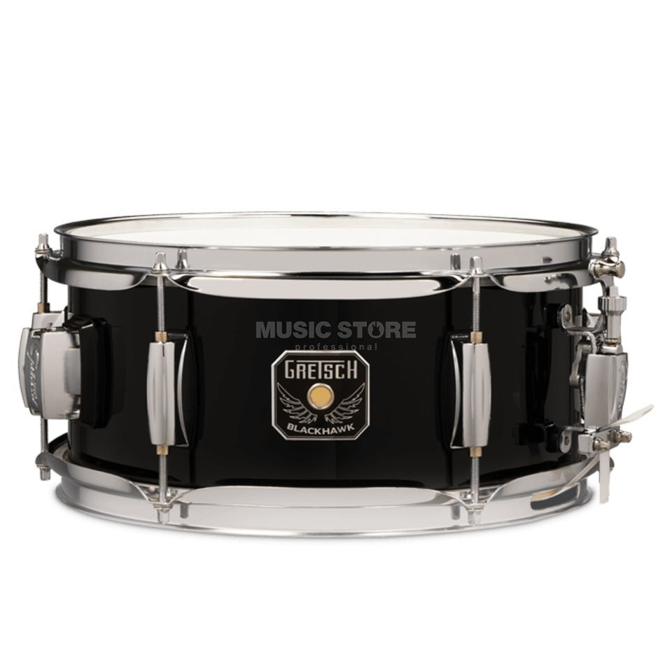 "Gretsch Mighty Mini Snare 12""x5,5"", Black, incl. GTS Mount Produktbild"