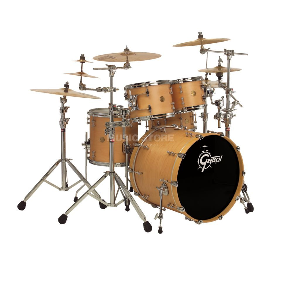 Gretsch New Classic ShellSet NC-S483, Satin Natural #SN Produktbillede