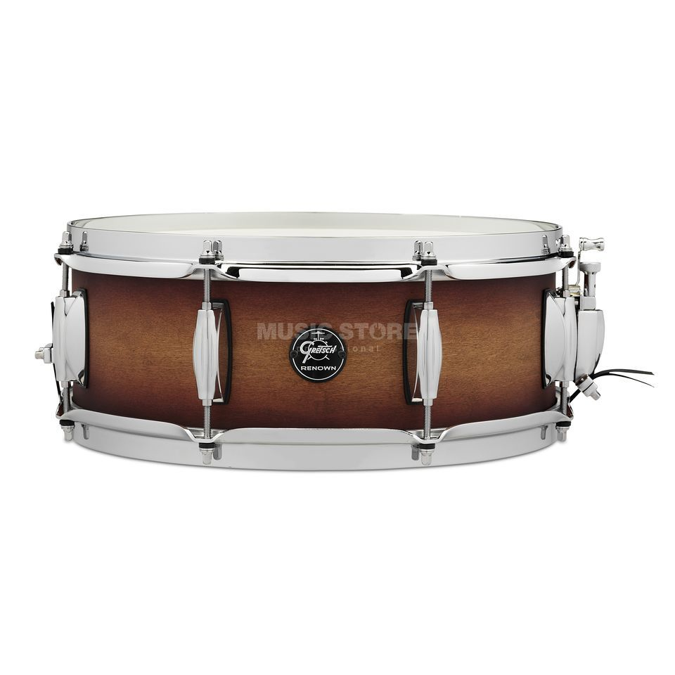 "Gretsch Renown Maple 2016 Snare, 14""x6,5"", Satin Tobacco Burst Product Image"