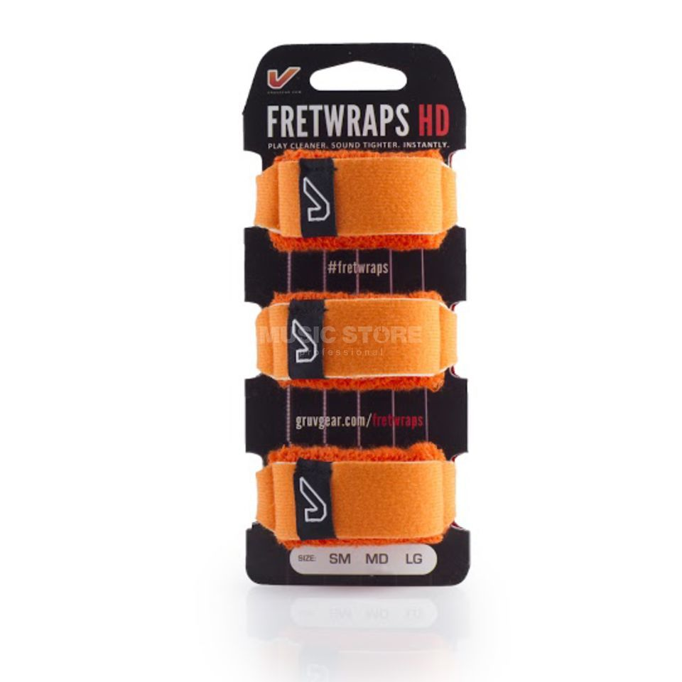 Gruv Gear Fret Wraps HD Flare Orange XL, 3er Pack Produktbild
